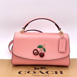 Coach Tilly Satchel 23 with Cherry 🍒